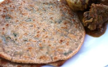 1.Chawal-ka-Paratha