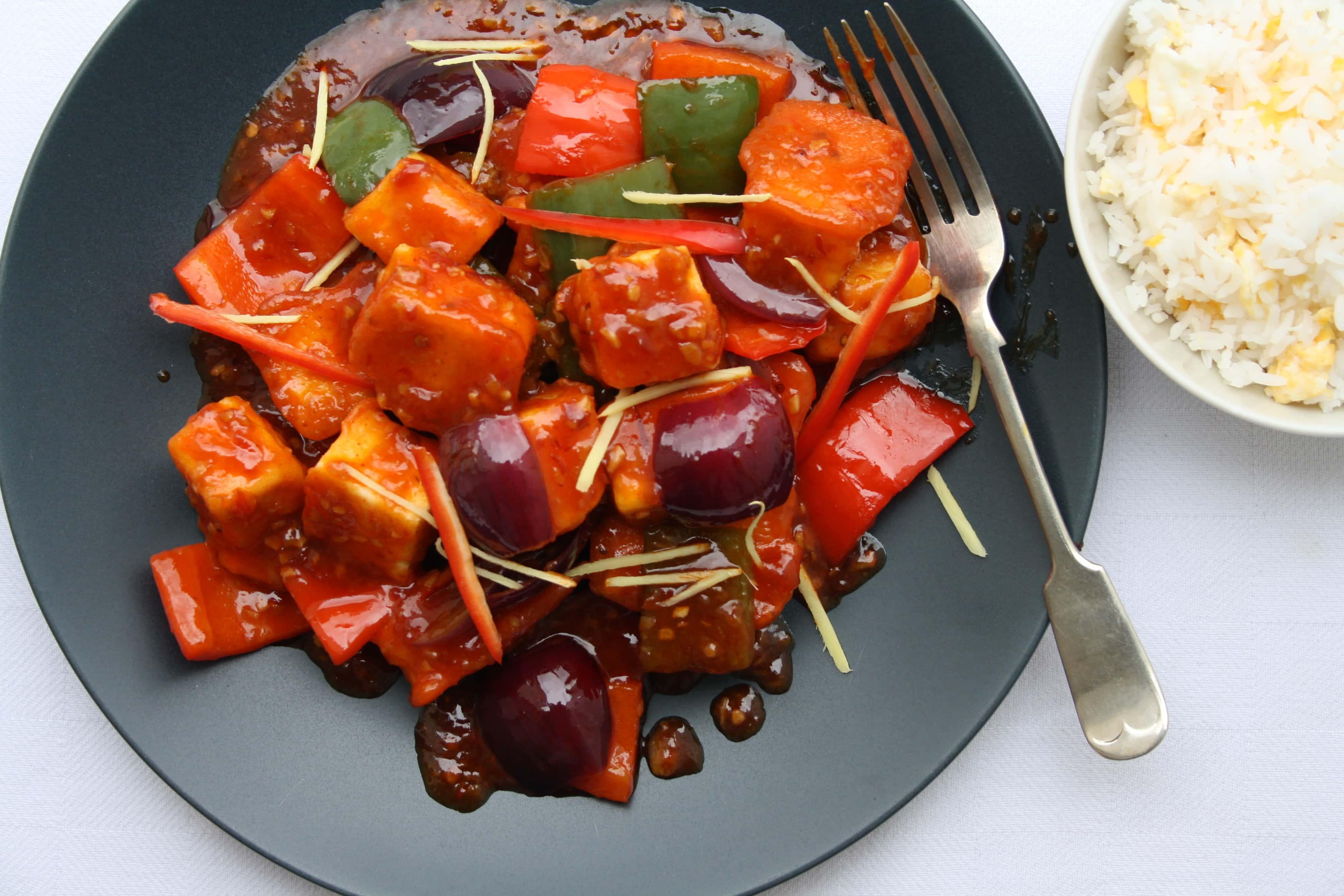 Chilli paneer fry indian recipes maunika gowardhan forumfinder Images