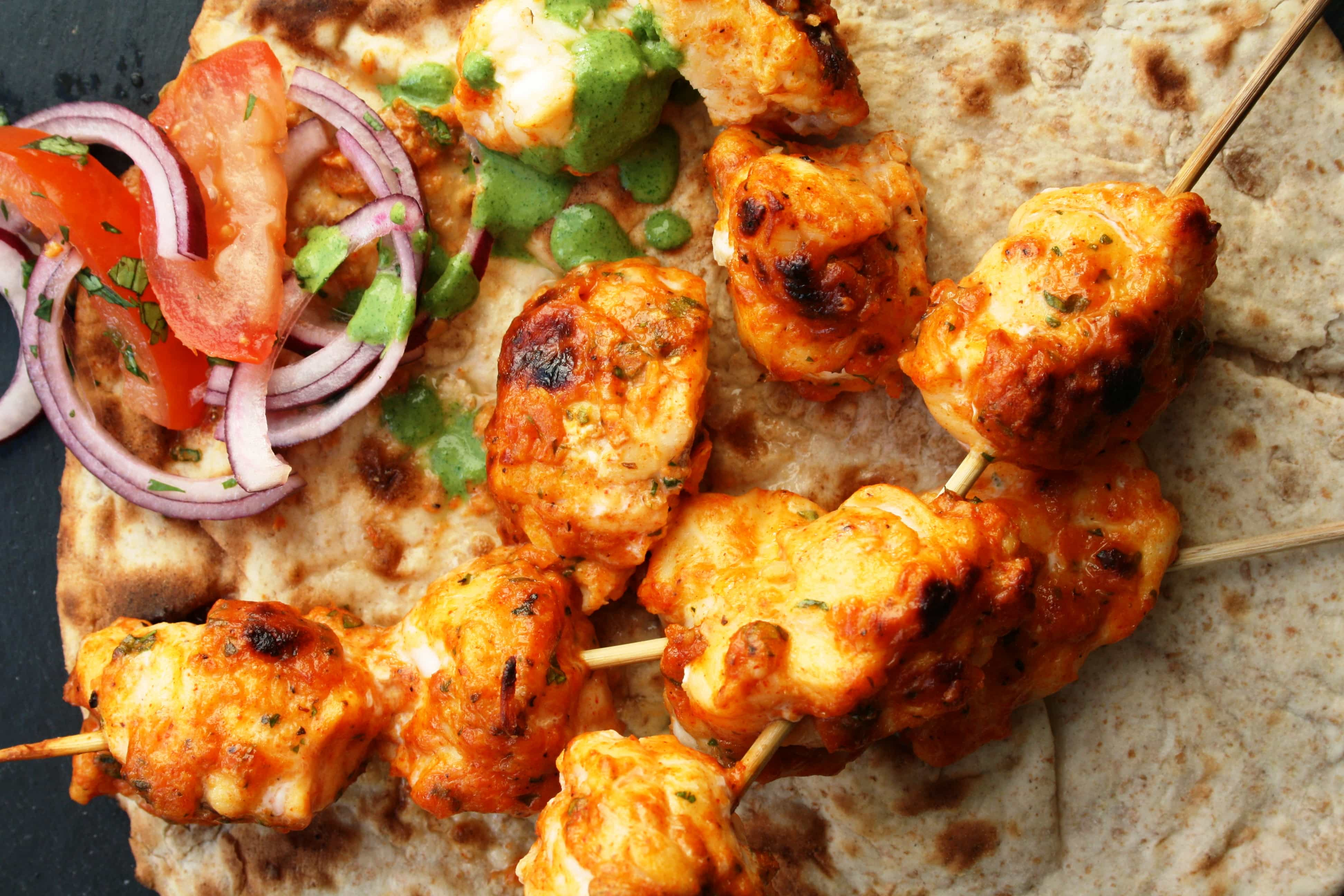 Tandoori Fish Tikka Indian Recipes Maunika Gowardhan