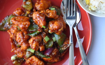 Indo Chinese Chilli Chicken