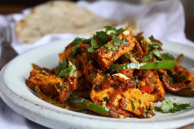 Paneer Jalfrezi Indian Recipes Maunika Gowardhan