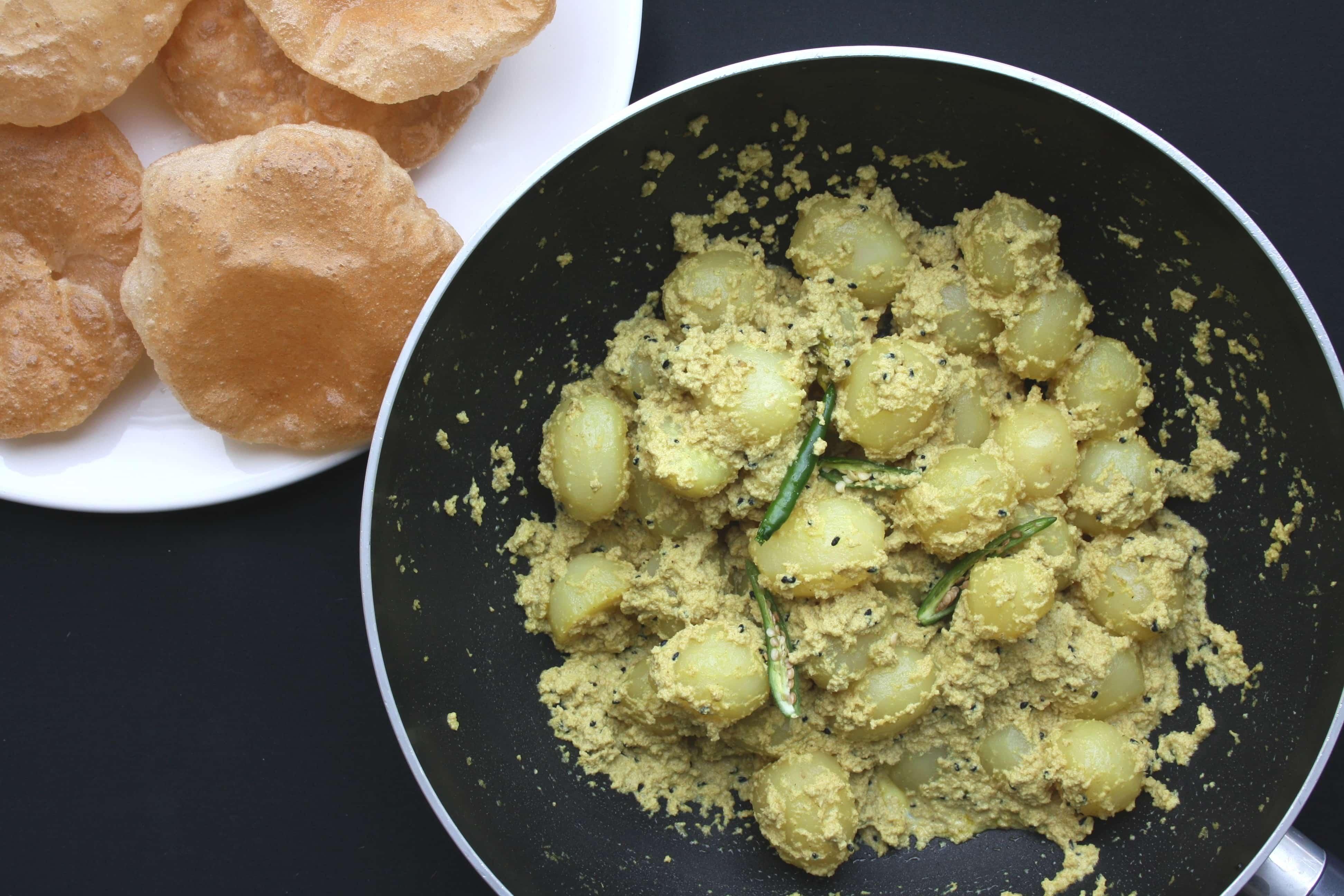Bengali aloo posto indian recipes maunika gowardhan forumfinder Choice Image