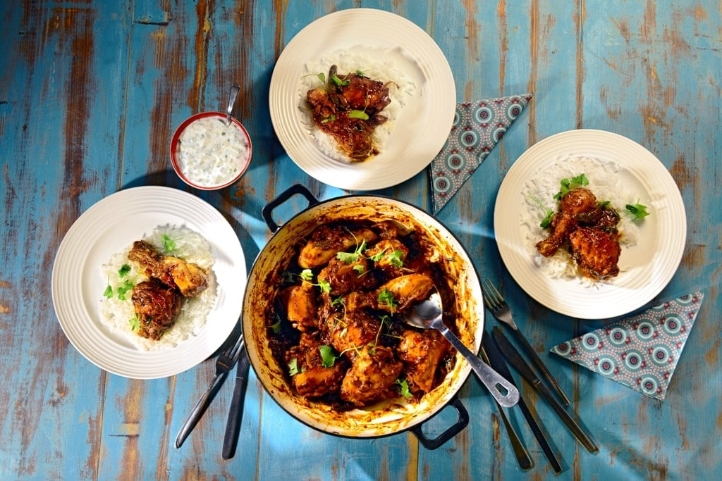 Tamil Chicken Varuval Indian Recipes Maunika Gowardhan
