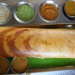 Ghee roast dosa at Sarvana Bhavan